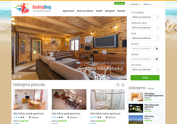 BookingBooy accommodation system