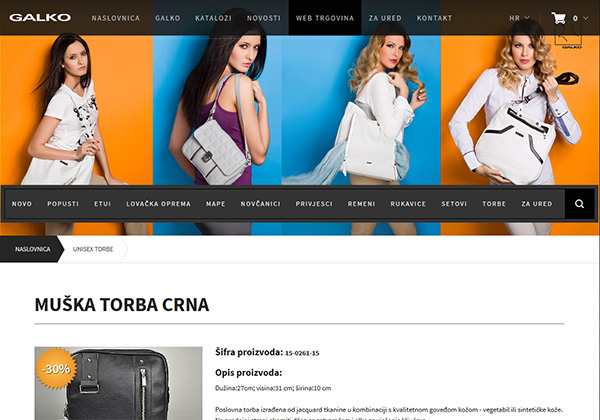 Galko - the leading manufacturer of bags and leather accessories